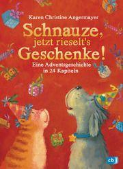 Schnauze, jetzt rieselt's Geschenke Angermayer, Karen Christine 9783570177549