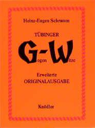 Tübinger Gogen-Witze Schramm, Heinz E 9783874210997