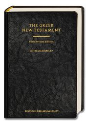 The Greek New Testament Institut für Neutestamentliche Textforschung Münster 9783438051189