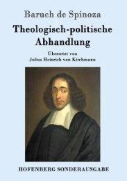 Theologisch-politische Abhandlung Baruch de Spinoza 9783843017060