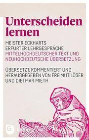 Unterscheiden lernen Freimut Löser/Dietmar Mieth 9783786732044