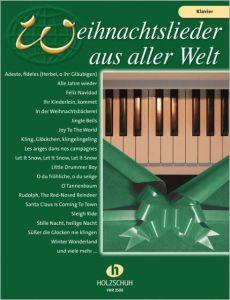Weihnachtslieder aus aller Welt - Klavier  9783920470733