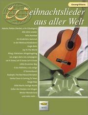 Weihnachtslieder aus aller Welt - Gesang/Gitarre  9783920470764