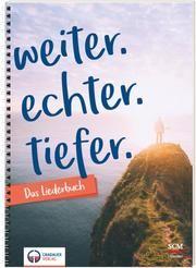 weiter.echter.tiefer - Das Liederbuch  9783775159647