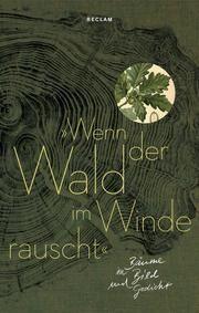 'Wenn der Wald im Winde rauscht' Luise Marohn 9783150112328