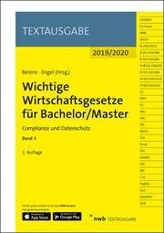 Wichtige Wirtschaftsgesetze für Bachelor/Master, Band 3 Holger Berens/Hans-Peter Engel 9783482673528