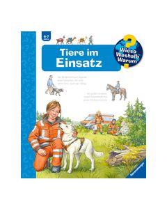 Wieso? Weshalb? Warum? Tiere im Einsatz (Band 16) Erne, Andrea 9783473600076