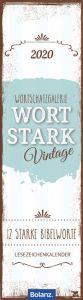 Wortstark Vintage 2020  9783866033092