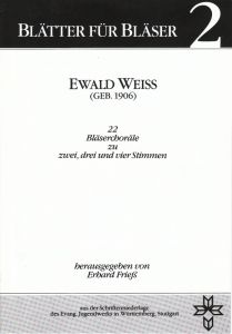 Ewald Weiss (Geb. 1906)