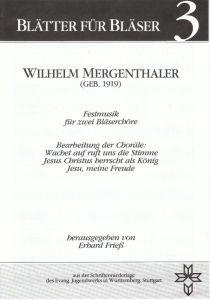Wilhelm Mergenthaler (Geb. 1919)