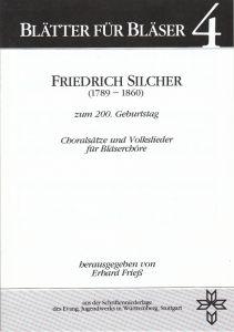 Friedrich Silcher (1789-1860)