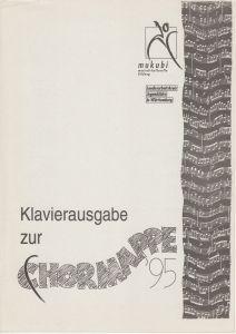 Chormappe 1995 Klaviersatz