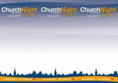 Druckvorlage ChurchNight Flyer A4