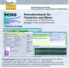 PCND9 - Posaunenchornoten Datenbank