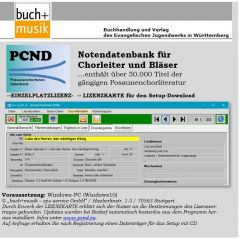X000008219 PCND Notendatenbank