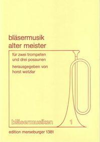 Bläsermusik alter Meister Heft 1