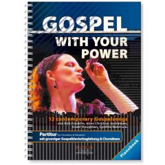 Gospel with your Power - Partitur