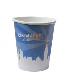 ChurchNight Papp Kaffeebecher