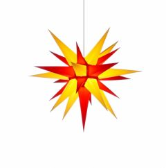Herrnhuter Stern i6 - gelb-rot ca. 60 cm