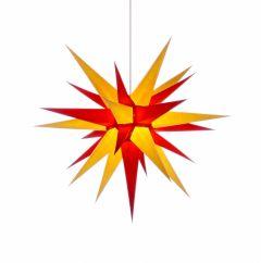 Herrnhuter Stern i7 - gelb-rot ca. 70 cm
