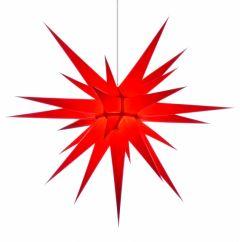 Herrnhuter Stern i8 - rot ca. 80 cm