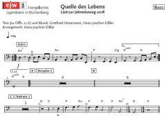 Einzelstimme - Quelle des Lebens - Bass (PDF)