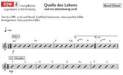 Einzelstimme - Quelle des Lebens - Leadsheet (PDF)