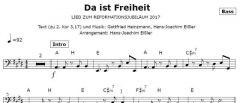 Einzelstimme - Da ist Freiheit - Bass (PDF)