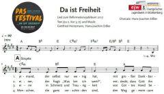 Einzelstimme - Da ist Freiheit - Chor (PDF)