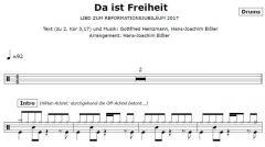 Einzelstimme - Da ist Freiheit - Drums (PDF)