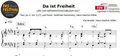 Einzelstimme - Da ist Freiheit - Klavier (PDF)