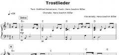 Einzelstimme - Trostlieder - Klavier (PDF)