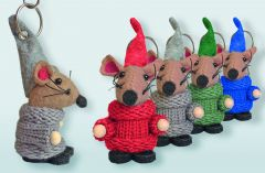 Schlüsselanhänger Kirchenmaus / Mäuse