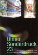 Ulmer Sonderdruck 23 Gott hält