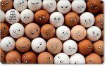 Vesperbrettchen / Frühstücksbrettchen Eier