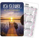 Jahreslosung 2020 Motiv Steg Spielkarten-Kalender