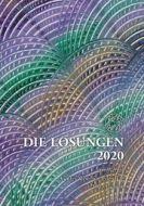 Die Losungen 2020 Großdruck Geschenkausgabe  9783724523352