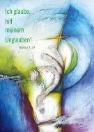 Jahreslosung 2020 Motiv Andrea Sautter Poster 40 x 60 cm